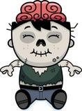 Cartoon Zombie Sitting Stock Images