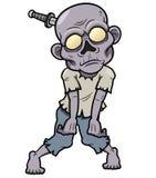 Cartoon zombie. Vector illustration of Cartoon zombie Royalty Free Stock Photos