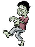 Cartoon zombie Royalty Free Stock Images