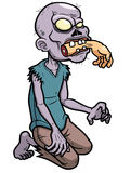Cartoon zombie Stock Images