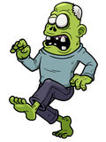Cartoon zombie stock illustration