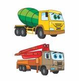 CartoonCars Royalty Free Stock Image