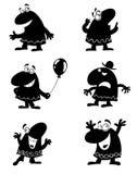 cartoonie śmieszny Obrazy Royalty Free