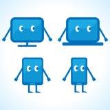 Cartoonish gadget designs Stock Photo