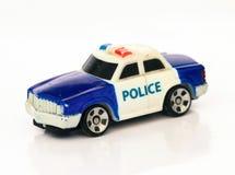 cartoonish samochodowy wizerunek odizolowywał stylowego policja biel Obraz Royalty Free