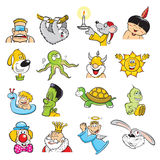 Cartoons Royalty Free Stock Photos