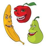 Cartoons fruit. Vector eps 8 stock illustration