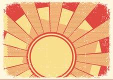 Cartoons grunge background with sunlight Stock Photos