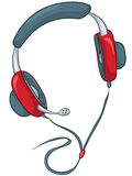 Cartoons Home Appliences Headphone Royalty Free Stock Photography