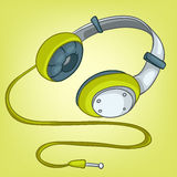 Cartoons Home Appliences Headphone Royalty Free Stock Images