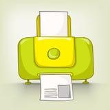Cartoons Home Appliences Printer Stock Image