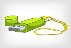 Cartoons Home Appliences USB Stick Stock Photos