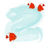 Red fishes Stock Photo