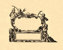 Cartouche Royalty Free Stock Images