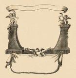 Cartouche Imagen de archivo libre de regalías