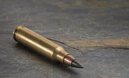 Cartouche AR-15 appelée un M855 taux de pression moteur Photo libre de droits