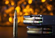 Cartouche AR-15 avec deux magazines Photo stock