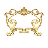 Cartouche dourado Fotos de Stock Royalty Free