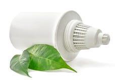 Cartouche filtrante de l'eau bio photo stock