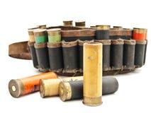 Cartouche pour le fusil de chasse photo stock