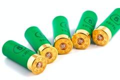 Cartouches de chasse pour le fusil de chasse Image libre de droits