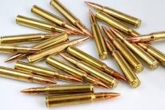 Cartouches de fusil Photographie stock