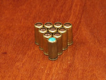 Cartouches de gaz. Image stock