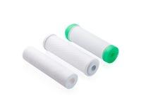 Cartouches pour le filtre d'eau images stock