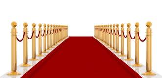 Cartpet vermelho Foto de Stock Royalty Free