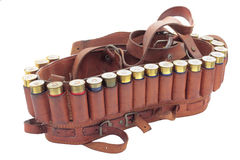 Cartridge belt Stock Photos