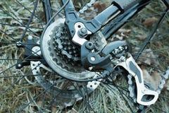 Cartridge bicycle gear shift Stock Image