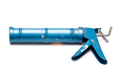 Cartridge caulking gun Stock Image