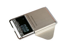 Cartridge digital scale stock photo