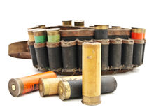 Cartridge for hunting rifle Stock Photo