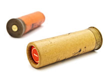 Cartridge for hunting rifle Royalty Free Stock Photos