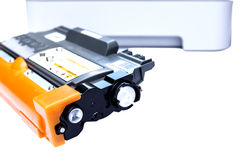 Cartridge for laser printer Stock Photo