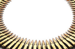 Cartridge 7.62 mm caliber . Royalty Free Stock Photo