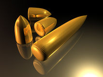 Cartridges. Illustration about dangers - cartridges - bullets - Background - 3D Royalty Free Stock Photo