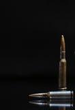 Cartridges On Dark Royalty Free Stock Photography
