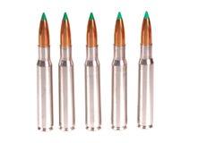 30-06 cartridges Royalty Free Stock Photo