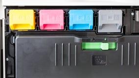 Cartridges in multifunctional printer Royalty Free Stock Photo