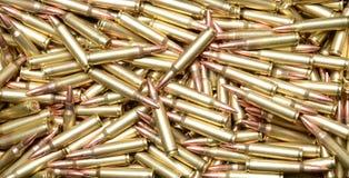 223/5.56 Cartridges Stock Photo