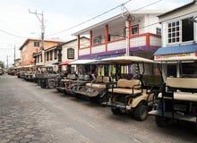 Carts parking Royalty Free Stock Photo