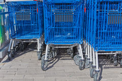 Carts for purchases Royalty Free Stock Image