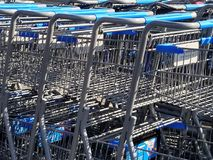 Carts Stock Photography