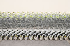 Carts Royalty Free Stock Photography