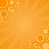 Cartton background. Cartoon background with sun rays...grunge, illustration Stock Photography
