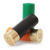 Cartucce del fucile da caccia Fotografie Stock Libere da Diritti