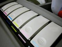 Cartucce di Hexachrome Immagini Stock