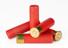 Cartucce per fucili a canna liscia Immagine Stock Libera da Diritti
